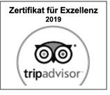 Zertifikat für Exzellenz - Tripadvisor Award Oberhofalm Filzmoos